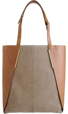 This one is for LaMae.  I am sure she would kill for this. Lanvin Miss Sartorial Suede Tote