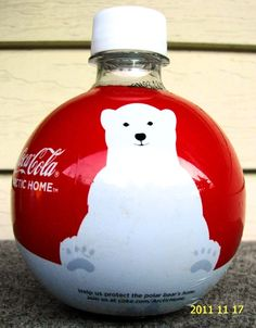 Coca-Cola Polar Bear Bottle