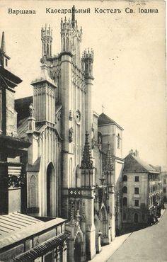 Warszawa przedwojenna - Archikatedra
