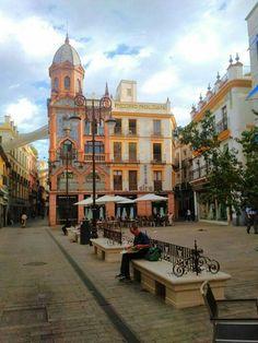 Plaza Jesús de la Pasión - Plaza del Pan en Sevilla, Andalucía