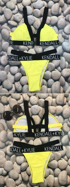 Enjoy the sunshine at beach! Select your favorite bikini set at OASAP.com.