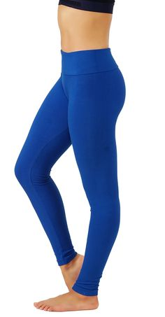 KVKSEA Womens High Waist CottonSpandex Yoga Pants Workout Leggings Small/Medium R.Bluelhw010 * You can find out more details at the link of the image. (This is an affiliate link) #yogaleggings