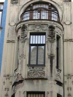 Art Nouveau Architecture Details