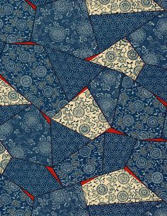 Japanese Chiyogami from Japanese Paper Place (CA) Japanese Quilts, Japanese Textiles, Japanese Paper, Japanese Fabric, Chinese Patterns, Japanese Patterns, Japanese Design, Pattern Paper, Pattern Art