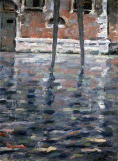 Gheorghe Petraşcu (2 decembrie 1872 – 1 mai 1949), pictor român , Paysage à Venise Unique Art, Art Museum, Nature, Noiembrie, 1 Mai, Painting, Coups, Venice, Landscape