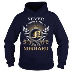I Love Never Underestimate the power of a NORGARD Shirts & Tees