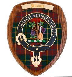 The Burnett of Leys Clan Crest