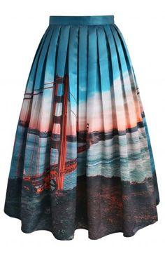 San Fran Fancy Midi Skirt - CHICWISH SKIRT COLLECTION - Skirt - Bottoms - Retro, Indie and Unique Fashion