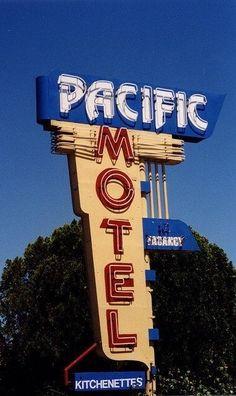 Pacific Motel   catman5674