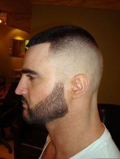 Men's Hairstyle: Militarism.