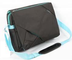 Multi-Compartment Laptop Messenger Bag in Assorted Colors