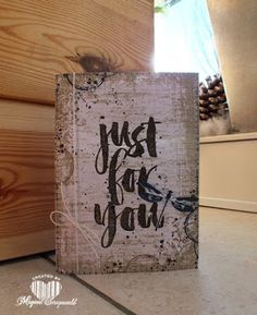 Magical Scrapworld: Just for you, awesomely artistic, Stampin' Up!, timeless textures, botanicals for you