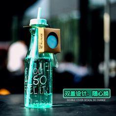 Unbreakable Plastic Sports Water Bottle