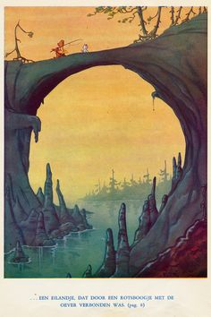 Marten Toonder ♥Tom Poes en de Watergeest 1950