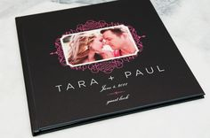 absolutely adorbs Guest Book from Design Aglow!
