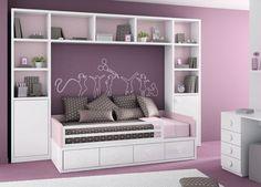 "Habitación infantil del catálogo de mueble juvenil ""Kids Up2"" de Muebles Ros:"