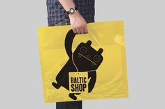 Founded : BALTIC SHOP - Carrier Bag