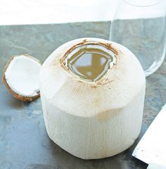 How to Open a Young Coconut & Why You Should Care! I care because I have so many in my yard and the store carries it for $5.00!!!
