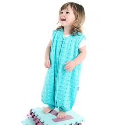 Help your child to learn walk by ordering this special sleeping bag made with snuggly soft jersey cotton for £20.99 at Slumbersac.