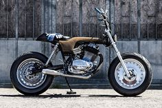 A Thing of Elegance & Beauty: Honda 'Mad Dax' (Ed Turner Motorcycles) Honda Cafe, Honda Bikes, Honda S, Honda Motorcycles, Custom Motorcycles, Custom Bikes, Cars And Motorcycles, Honda Motorbikes, Bike Rally