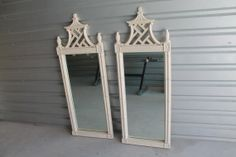 Vintage Thomasville Pagoda Mirrors.  I SO want a pair for a bathroom.