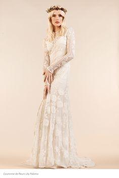 Robe de mariée Rue de Seine - Collection Maria Luisa Mariage - Le Printemps Paris