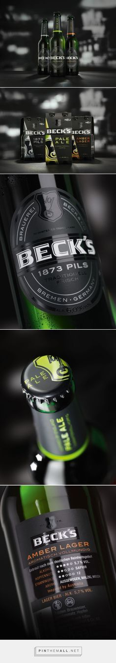 #Beck's Premium #Beer Trio #packaging designed by Solutions Branding & Packaging Design PD
