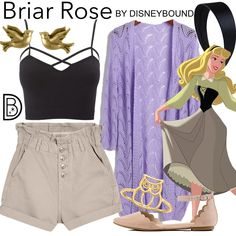 DisneyBound is meant to be inspiration for you to pull together your own outfits which work for your body and wallet whether from your closet or local mall. As to Disney artwork/properties: ©Disney Disney Bound Outfits Casual, Cute Disney Outfits, Disney Themed Outfits, Outfits For Teens, Cute Outfits, Princess Inspired Outfits, Disney Princess Outfits, Disney Inspired Fashion, Disney Fashion
