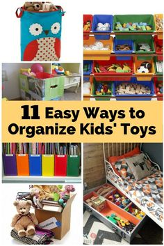 Home Organization Ideas for Your Kids Room | How To Organize Things the Easy Way!