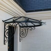 1000 images about marquise on pinterest marquis canopies and wrought iron - Marquise en fer forge ...