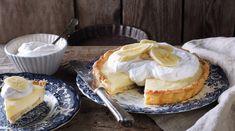 Banana Cream, Cream Pie, Camembert Cheese, Cake Recipes, Bacon, Muffin, Pudding, Food, Tarte Tatin