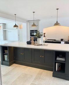 Kitchen Dining Living, Home Decor Kitchen, Kitchen Interior, New Kitchen, Home Interior Design, Home Kitchens, Kitchen Design, Future House, Decoration