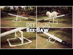 How To: DIY Agility See-Saw   TheDogBlog - YouTube