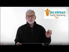 Fred Miller, NO SWEAT Public Speaking.    Here's a Great Tip!   –  The Magic of THREE!  We've always used THREE.  •   THREE wise men.  •   THREE strikes you're out.  •   The THIRD time's the charm.     When it comes to presentations, THREE is magical!