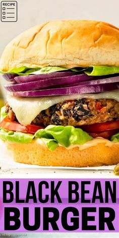 How to make the ultimate veggie burgers! This recipe is fool-proof and packed with flavor! It's burger recipe even a carnivore will love! Breakfast Recipes, Dinner Recipes, Dessert Recipes, Drink Recipes, Norway Food, Black Bean Recipes, Black Bean Burgers, Veggie Burgers, Burger Recipes