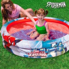 Spiderman Inflatable Paddling Pool - Kinebuy