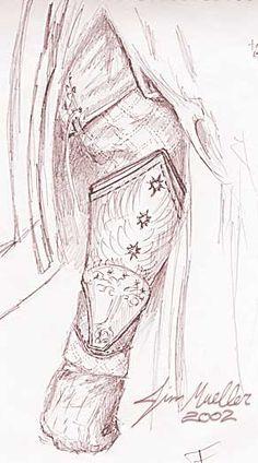 Faramir Gauntlets detail
