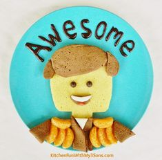 Awesome Lego Movie Pancakes for Breakfast