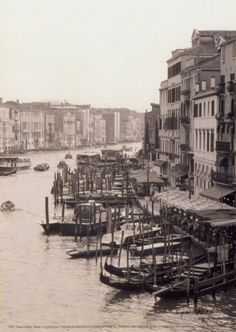 Array of Boats, Venice