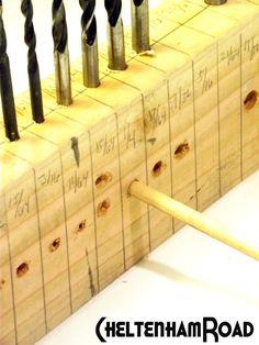 Tutorial Drill Bit Storage And Gauge