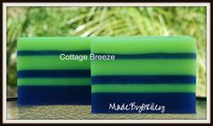 Cottage Breeze. Luxury handmade soap with clean by MadeByORiley