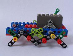 Wind-up LEGO Walker