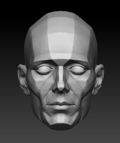 Anatomy Drawing AnatoRef — Planes of the Face Row 1 Row 2 (Lleft, Right), Facial Anatomy, Head Anatomy, Anatomy Drawing, Anatomy Art, Figure Drawing Reference, Anatomy Reference, Volume Art, Planes Of The Face, Anatomy Sculpture