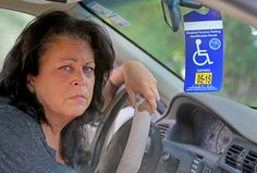 Parking lot vigilantes abuse woman with 'invisible' disability  After parking at a disabled parking space at the Margate Winn-Dixie, Debbie Mizrahi noticed a man staring at her and shaking his head.  http://www.sun-sentinel.com/local/broward/fl-disabled-tag-20150102-story.html