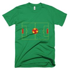 Grenada Football and Field - Short sleeve men's t-shirt