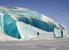 Frozen Tidal Wave | Antartica