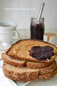 Make jam with chia seeds instead of gelatin.  Recipe for Blackberry Jam.