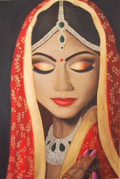 Indian Bride by Chee Foster