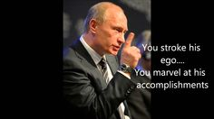 Vladimir Putin on how to handle Donald Trump so he quits the race for GO...