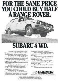 Subaru 4WD ad 1978